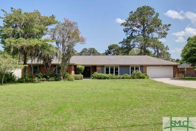 Savannah Single Family Home For Sale: 113 Brannen Drive