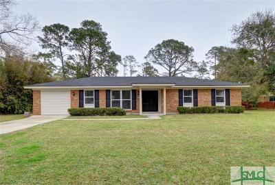 Savannah Single Family Home For Sale: 426 Hunt Drive