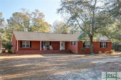 Single Family Home For Sale: 2676 Clyo Kildare Road