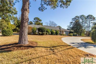 Savannah Single Family Home For Sale: 422 Hunt Drive