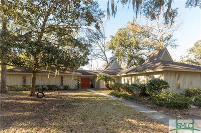 Savannah Single Family Home For Sale: 10 N Cromwell Road