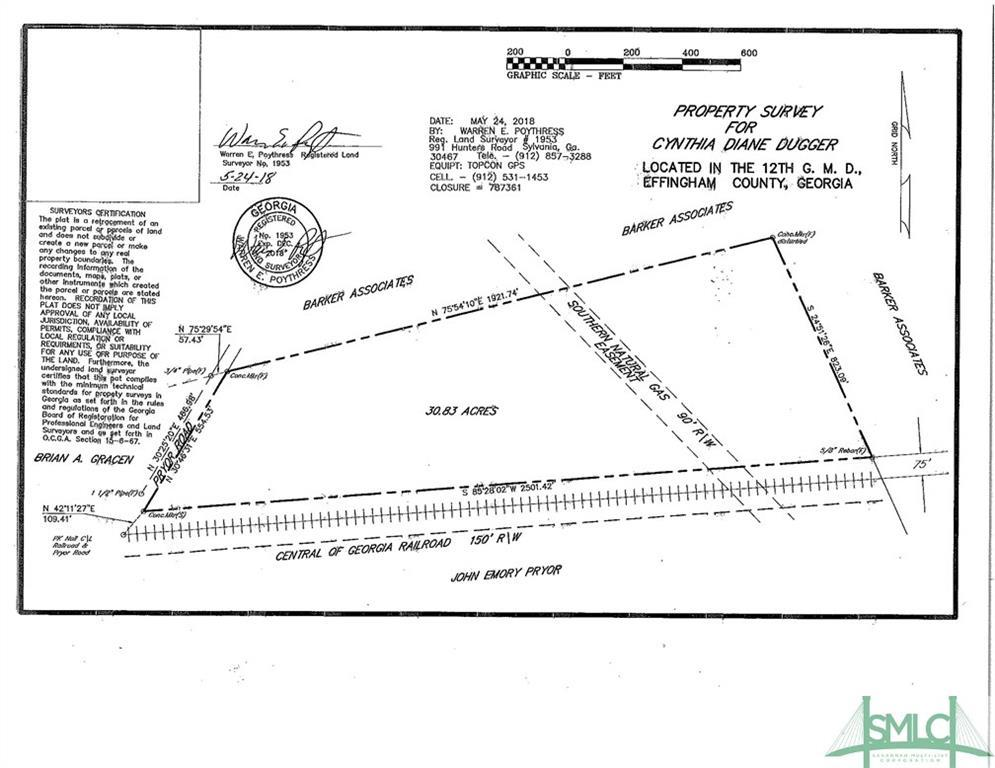 0 Pryor, Newington, GA, 30446, Newington Home For Sale
