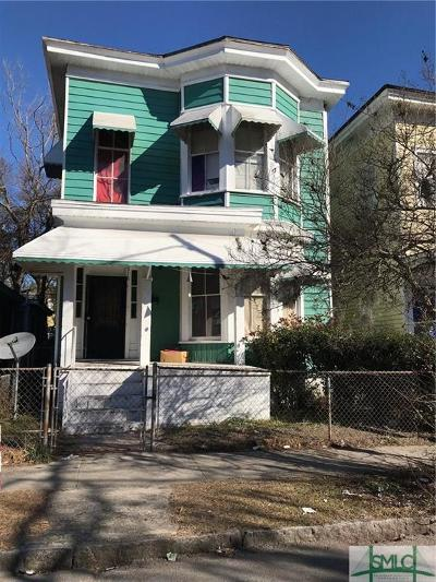 Savannah Multi Family Home For Sale: 518 W 38th Street