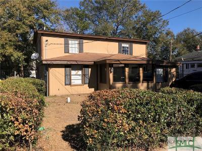 Savannah Single Family Home For Sale: 108 W 61st Street