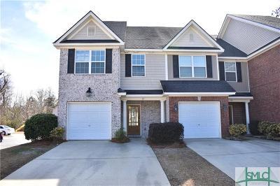 Savannah Condo/Townhouse For Sale: 41 Weslyn Park Drive Drive