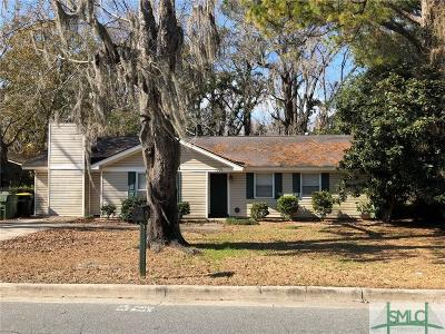 Savannah Single Family Home For Sale: 4709 Spring Hill Road