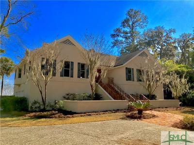 Savannah Single Family Home For Sale: 16 Modena Island Drive