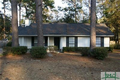Savannah Single Family Home For Sale: 1412 Whitfield Park