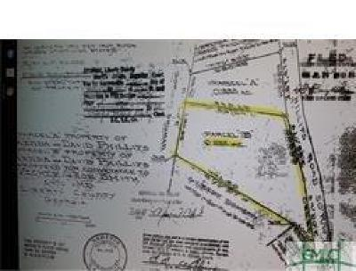 Fleming GA Residential Lots & Land For Sale: $10,000