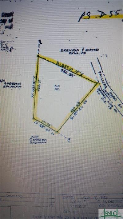 Fleming GA Residential Lots & Land For Sale: $15,000