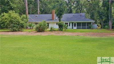 Chatham County Single Family Home For Sale: 146 Mercer Road