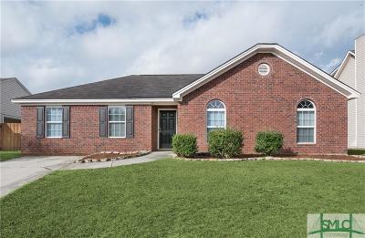 Pooler Single Family Home For Sale: 124 Bluelake Boulevard