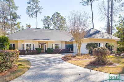 Savannah Single Family Home For Sale: 12 Pineside Lane