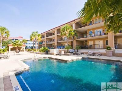Tybee Island Condo/Townhouse For Sale: 3 15th Street #105