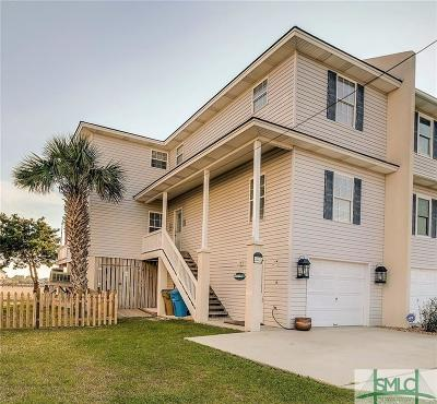 Tybee Island Condo/Townhouse For Sale: 607 6th Street #A