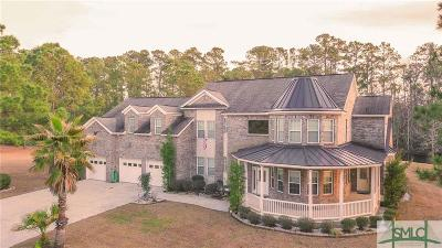 Savannah Single Family Home For Sale: 302 Lakeshore Drive