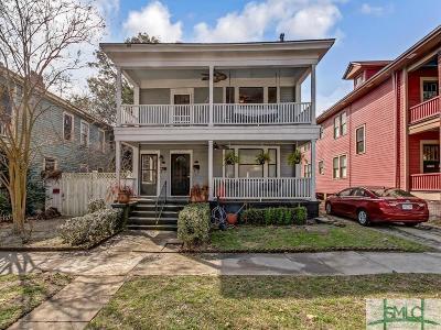 Savannah Multi Family Home For Sale: 515 E Duffy Street