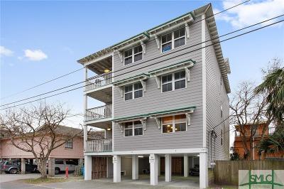 Tybee Island Condo/Townhouse For Sale: 17 Izlar #