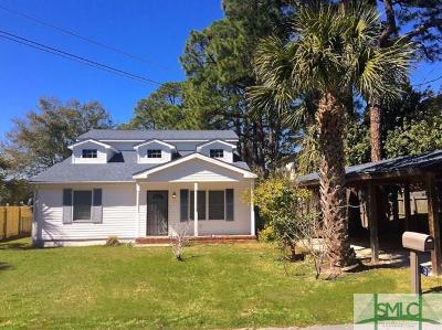 Tybee Island Single Family Home For Sale: 103 Lewis Avenue
