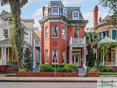 Savannah Single Family Home For Sale: 703 Whitaker Street