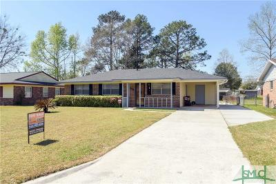 Savannah GA Single Family Home For Sale: $164,900