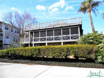 Tybee Island Condo/Townhouse For Sale: 3 11th Place