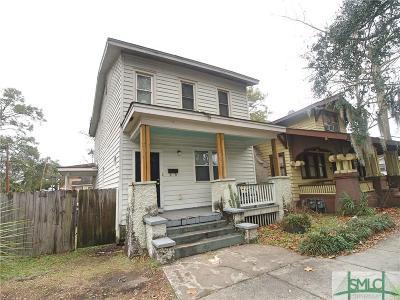 Savannah Single Family Home For Sale: 818 W 37th Street