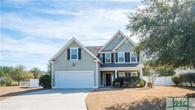 Pooler Single Family Home For Sale: 22 Stone Gate Court