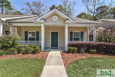 Savannah GA Condo/Townhouse For Sale: $139,900