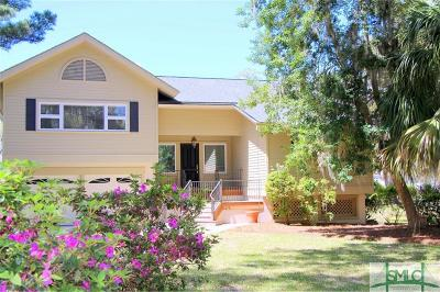 Savannah Single Family Home For Sale: 1 Sky Sail Circle