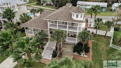 Tybee Island Single Family Home For Sale: 113 Gen George Marshall Boulevard