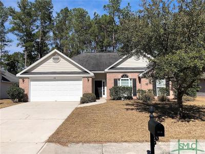 Pooler Single Family Home For Sale: 114 Arbor Village Drive