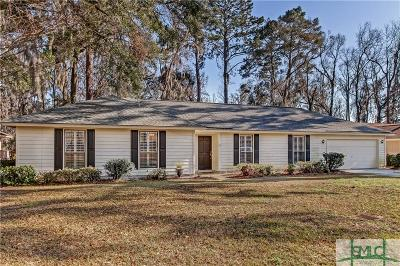 Savannah Single Family Home For Sale: 120 Shamrock Circle