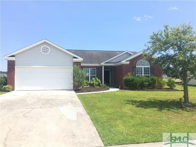 Savannah Single Family Home For Sale: 177 Brickhill