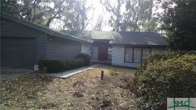 Savannah Single Family Home For Sale: 255 Kensington Drive