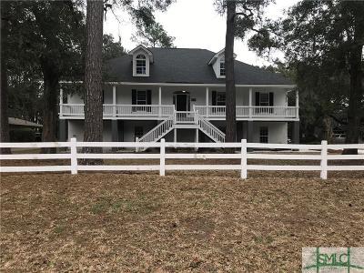 Savannah GA Single Family Home For Sale: $499,900
