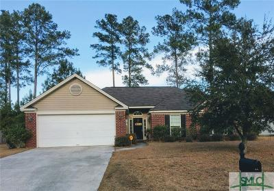 Pooler Single Family Home For Sale: 66 Yellow Jasmine Court