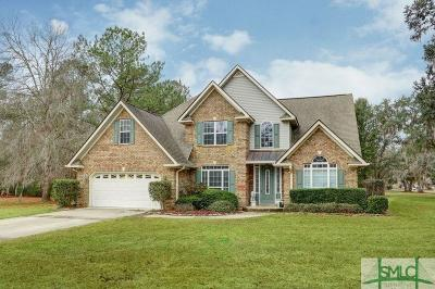 Guyton Single Family Home For Sale: 124 Biltmore Drive