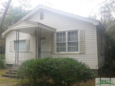 Savannah GA Single Family Home For Sale: $195,000