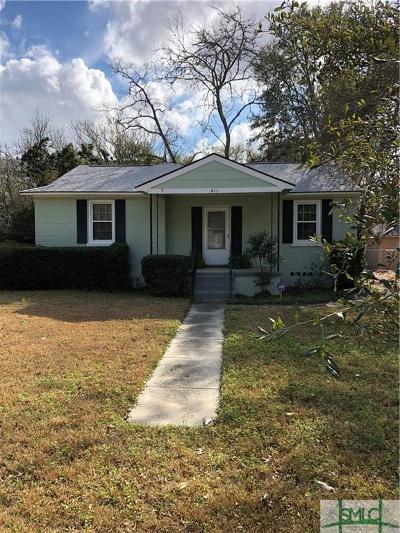 Savannah GA Single Family Home For Sale: $185,000