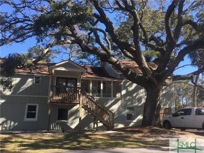 Tybee Island GA Single Family Home For Sale: $450,000