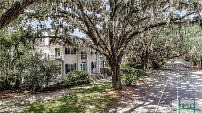 Savannah Single Family Home For Sale: 401 Washington Avenue