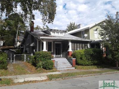 Savannah Single Family Home For Sale: 650 Seiler Avenue