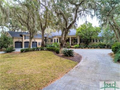 Savannah GA Single Family Home For Sale: $2,495,000