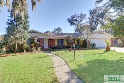 Savannah Single Family Home For Sale: 1613 Foxhall Road