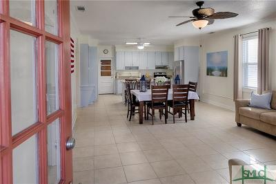 Tybee Island GA Single Family Home For Sale: $459,000