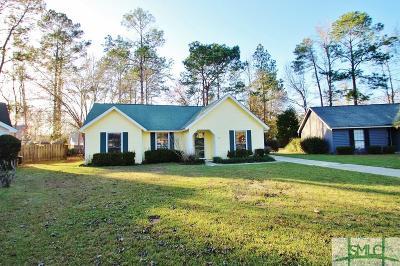 Savannah Single Family Home For Sale: 11 W Sagebrush Lane