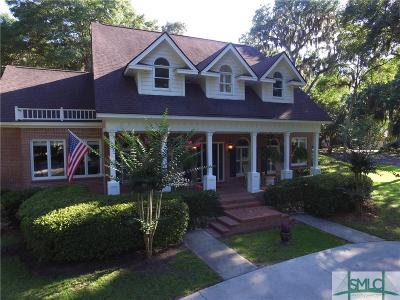 Savannah GA Single Family Home For Sale: $640,000