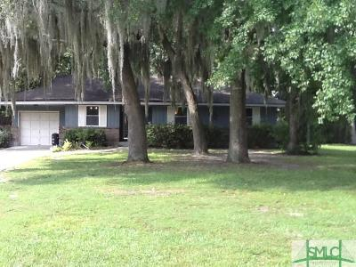 Savannah GA Single Family Home For Sale: $141,700