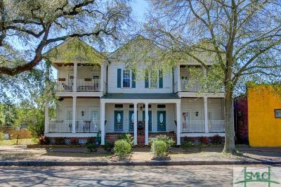 Savannah Condo/Townhouse For Sale: 317 W Gwinnett Street